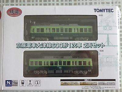 Tomytec N Scale 1/150 Railway Collection Keihan Type 600 1st Edition 2 cars