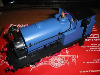 Ixion Models, Hudswell Clarke 0-6-0 Standard Contractor's Tank, Blue Livery