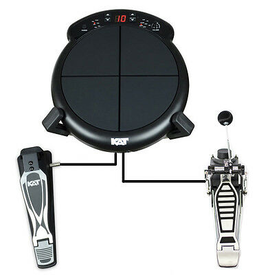Kat Percussion Ktmp1 Electronic Multipad. Drum Pad With Kit & Kick Pedal