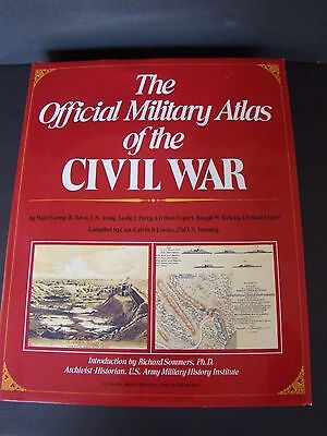 The Official Military Atlas Of The Civil War 1983 Edition Over Sized