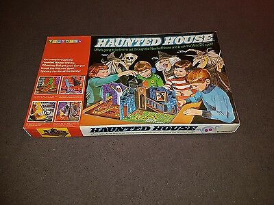 A Vintage 1970's Australian Toltoy's Version of Haunted House 3D Board Game Rare