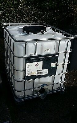 ibc container tank 1000 litre water butt oil tank