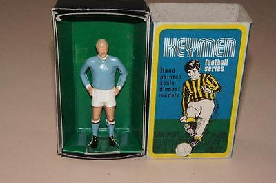 1960's diecast Keymen Football Series boxed Francis Lee Manchester City kit