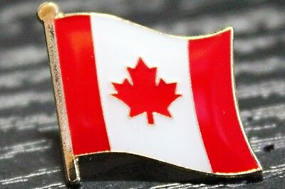 CANADA Canadian Country Metal Flag Lapel Pin Badge *NEW*