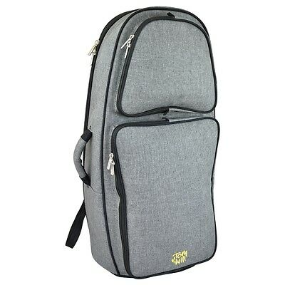 Tom and Will 26EU Padded Euphonium Bag - Grey
