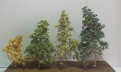 Good Economical Alternative Leaf Cover for HO/N Scale Trees Green Mix (LS2)