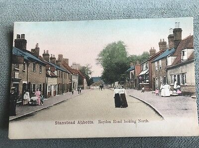 Stanstead Abbotts Village Near Ware Pub Shop Front Villagers