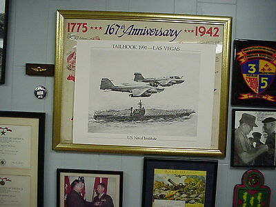Tailhook 1991, Las  Vegas, Two Intruders fly by the JFK. Mint condition!