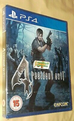 Resident Evil 4 HD Remake Playstation 4 PS4 NEW SEALED FREE UK p&p UK Pal