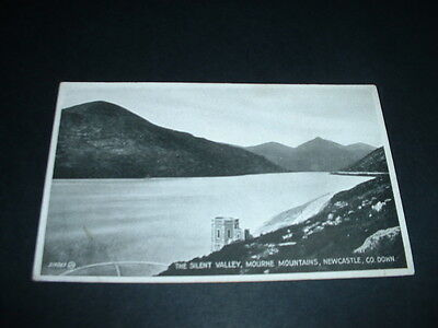 IRISH  POSTCARD THE SILENT VALLEY MOURNE MOUNTAINS NEWCASTLE Co.DOWN N.I.