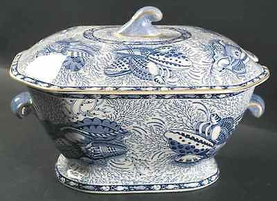 Mottahedeh TORQUAY BLUE (GOLD TRIM) Tureen 406192