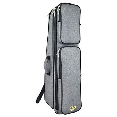 Tom and Will 26TB Padded Tenor Trombone Bag - Grey