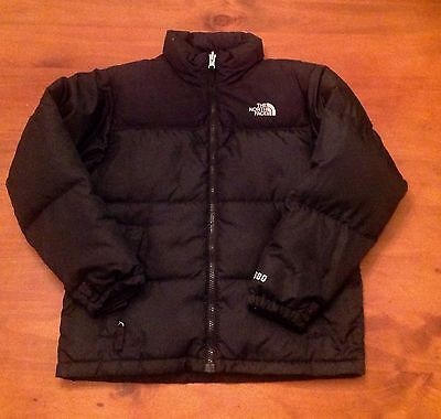 THE NORTH FACE Black Puffer Style Jacket, Boys M / 12 Yrs