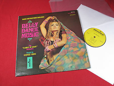 George Abdo  BELLY DANCE MUSIC - LP Monitor MFS 721 USA near mint