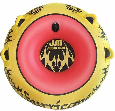 water ski tube hurricane deluxe 54 inch latest donut towable+rope