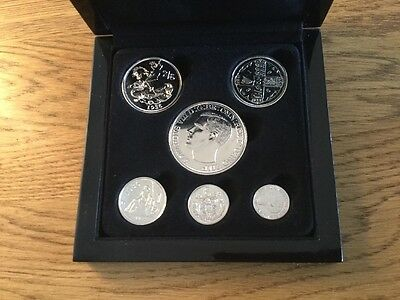 1936 Edward Viii Six Coin Set