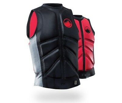 Liquid Force Cardigan Comp Wakeboard Impact Buoyancy Vest S | XL  Black 48876