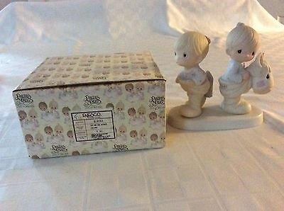 Precious Moments How Can 2 Walk Together Except They Agree Figurine in Box 1982