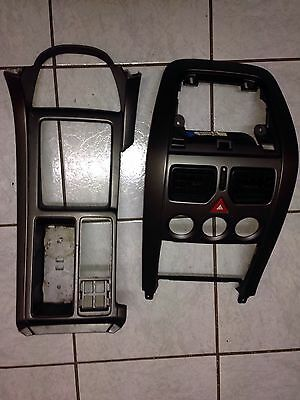 HOLDEN COMMODORE VY VZ Gray CENTRE CONSOLE AND DASH FASCIA SURROUND No Buttons
