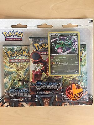 Pokemon Trading Card Game - Steam Siege Triple Booster Pack New