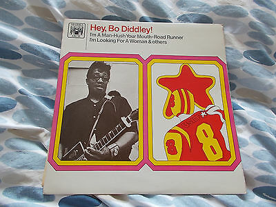 Bo Diddley Lp 'hey, Bo Diddley!' On Uk Marble Arch - Mint Vinyl!