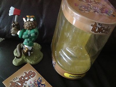 The Turds Figurines - Jack Sh*t With Box and Log Book