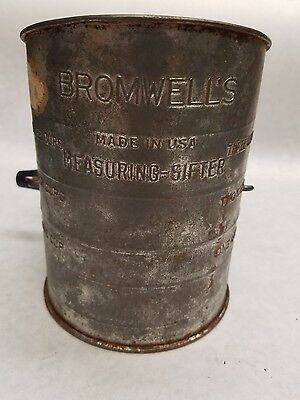Bromwells Measuring-Sifter. 3 Cups