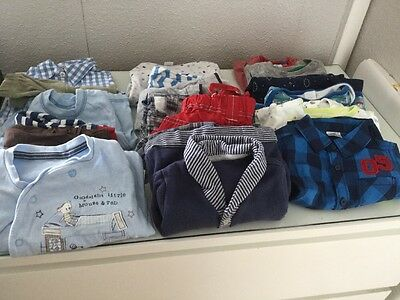 Baby Boy Bundle 3-6 Months Next/john Lewis/mini Club/George Etc