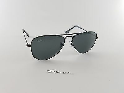 Ray‑Ban Junior RJ9506S 201/71 50 Aviator Sunglasses Black 805289106685 {8-9}