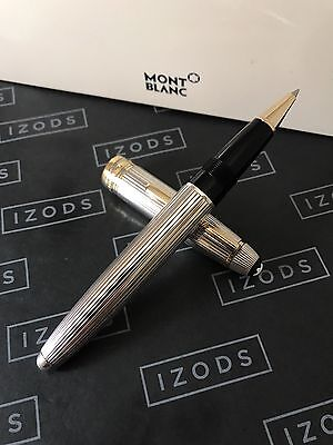 Montblanc Meisterstuck Solitaire Silver LeGrand Rollerball Pen - Very Rare