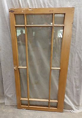 Antique Casement 11Lite Window Cabinet Bookcase Shabby Vintage Chic 48X24 38-17P