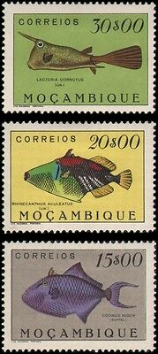 Mozambique #352-354 set MH VF higher values