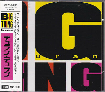 Duran Duran – Big Thing + 5 Special Package-Rare Japanese Import-2 Cd Set-WoW