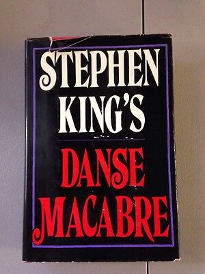 Danse Macabre By Stephen King! 1st Edition Hardcover Book! RRD281 $13.95