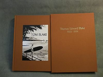 Tom Blake The Uncommon Journey of a Pioneer Waterman Deluxe Limited Signed