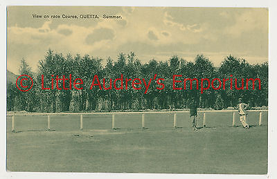 Old Postcard QUETTA Pakistan British India View on Race Course 1900s AL363