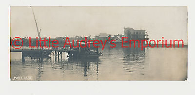 Old Postcard Egypt Port Said - The Cairo Postcard Trust 1900s AL381