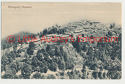 Old Postcard Pakistan British India Khaira Gali Khairagully (Summer) 1900s AL368