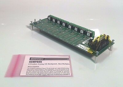 Dataforth SCMPBO5 8 position Analog I/O Module *NEW OLD STOCK*