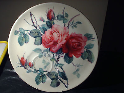 english rose fine bone china plate by roy kirkham