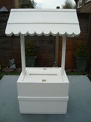 Wedding wishing well lockable 80 cm plus high free postage in the uk-