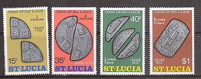 St Lucia. QE II Selection on 7 Scans