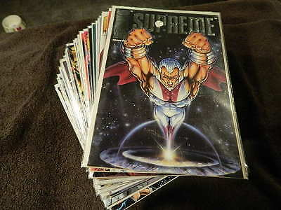 (47) 1993 IMAGE Comics SUPREME #0, 1-55 + LEGENDS Of SUPREME #1-3 - VF/NM