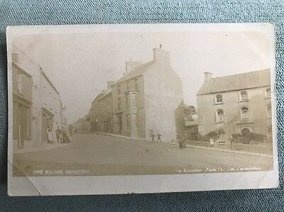 Narberth The Square Shop Front 1905 Locals