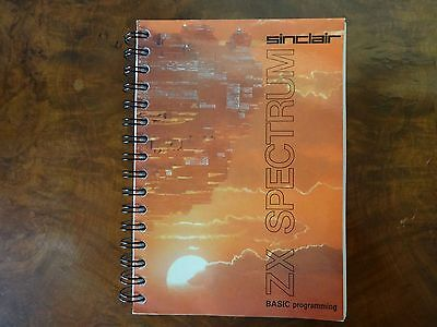 Sinclair ZX Spectrum Basic Programming, VICKERS, Steven, Used; Good Book