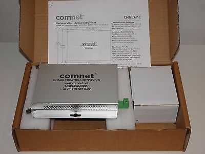 TOP PRICE! Comnet CNGE2MC Media Converter, 1000 MBPS SFP Required