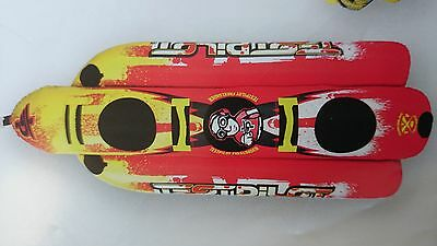 ski tube hotdog 3 person test pilot freeloader quality towable