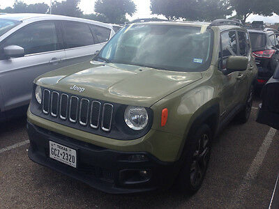 2015 Jeep Renegade  2015 Jeep Latitude
