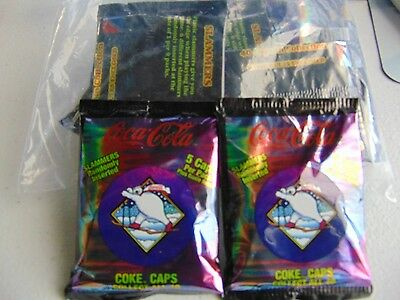 14 Coca-Cola Cards And Slammers Pogs New Gm859