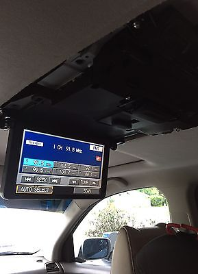 OEM Acura MDX Roof Display DVD Screen 39460-STX-A012-M1 Graphite Black 07-09